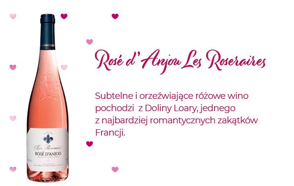 Subtelne i orzeźwiające różowe wino idealne na walentynki