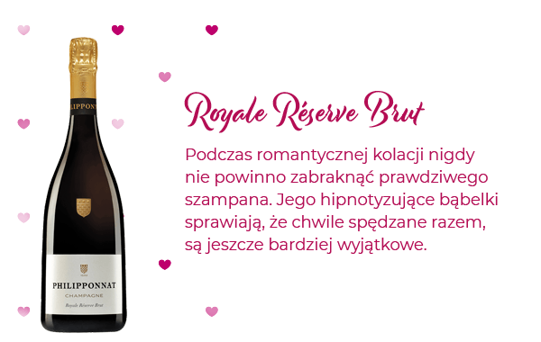 Podczas romantycznej kolacji nigdy nie powinno zabraknąć prawdziwego szampana